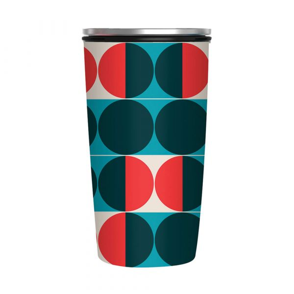 """Slide Cup Deluxe """"Modernist Circles"""""""