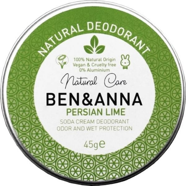 """Ben & Anna Deocreme in Weißblechdose """"Persian Lime"""""""