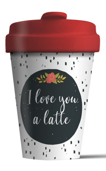 "BambooCup ""Love you Latte"""