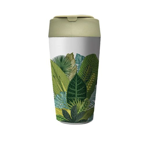 Bioloco Plant Deluxe Cup-exotic leaves
