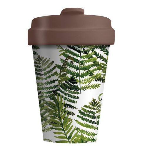"BambooCup ""Green Leaves"""