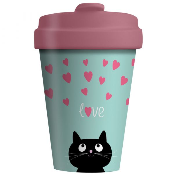 "BambooCup ""Kitty Love"""