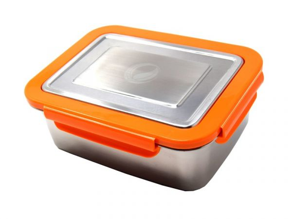 ECOtanka™ 2l LunchBOX mit Rahmen in orange