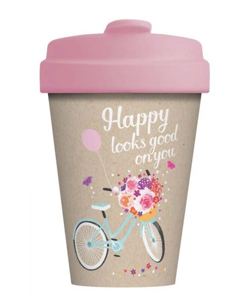 """BambooCup """"Happy looks good"""""""