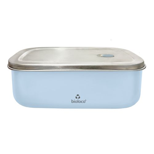 Bioloco Sky Edelstahl Lunchbox in light blue