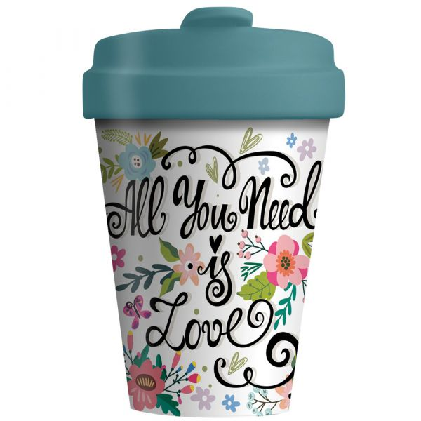 "BambooCup ""All you need is love"""