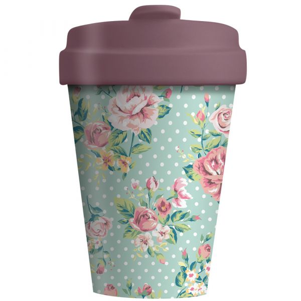 "BambooCup ""Vintage Roses"""