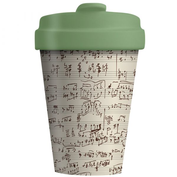 """BambooCup """"Music Notes"""""""