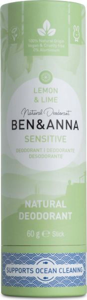 "Ben & Anna natürliches Deo Sensitive ""Lemon Lime"""