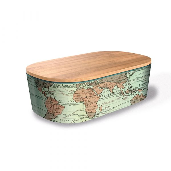 "Lunchbox Deluxe ""World Map"""