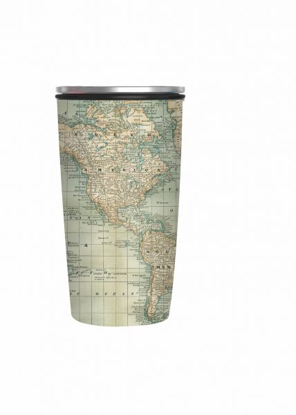 "SlideCup Deluxe ""Antique Map"""