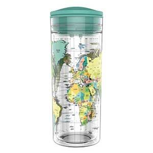SlideCup Crystal 0,55l Trinkflasche-World