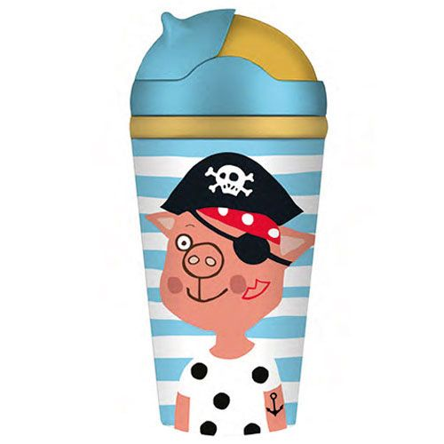 Bamboofriends Kinderbecher - Piratenschatz Pocomo