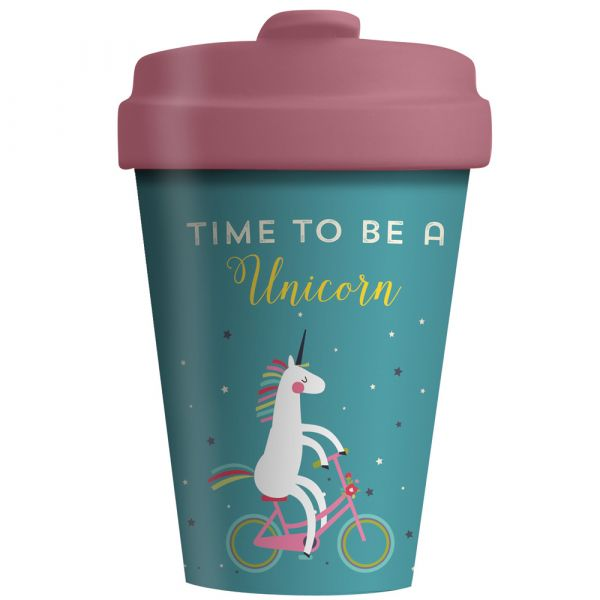 "BambooCup ""Time for Unicorns"""