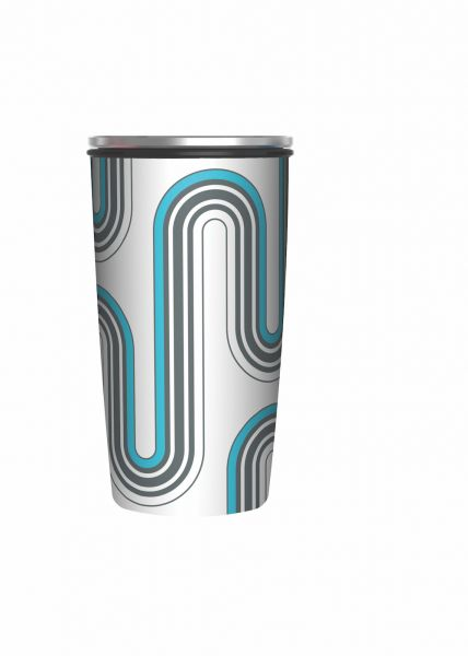 "Slide Cup Deluxe ""Retro Design"""