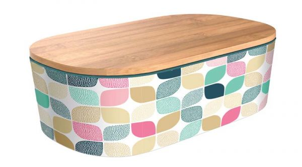 """Lunchbox Deluxe """"Bright Modern Pattern"""""""
