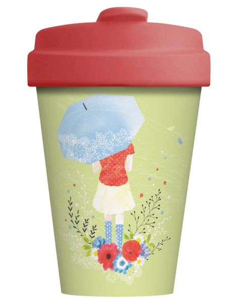 "BambooCup ""Girl and umbrella"""