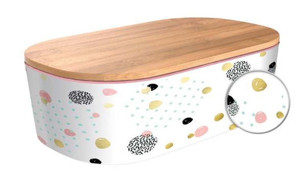 """Lunchbox Deluxe """"Dotted Pattern"""" mit Golddruck"""